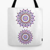 Star Mandala - JUSTART © Tote Bag by JUSTART