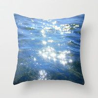 sparkling moments of life Throw Pillow by Marianna Tankelevich