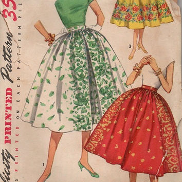 Vintage 1950s Simplicity Sewing Pattern From Adele Bee Ann