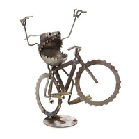 WHEELIE DESKTOP SCULPTURE