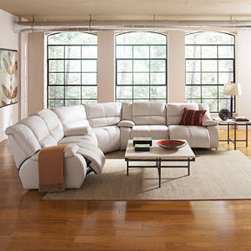 Franco Leather Sectional Living Room From Macys Things I Want