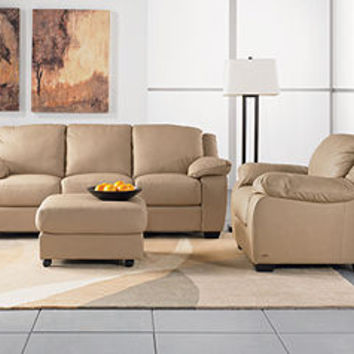 Blair Leather Sofa Living Room Furniture From Macys Things I