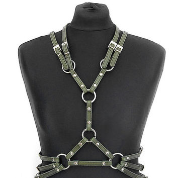 20 colors of leather - harness