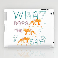 FOX by Monika Strigel and NIKA iPad Case by Nika