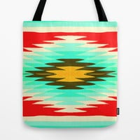 SURF LOVIN : CALIFORNIA Tote Bag by Nika