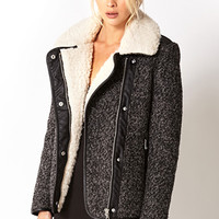 Winter Nights Bomber Jacket