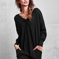 Double V-neck Tunic - A Kiss of Cashmere - Victoria's Secret