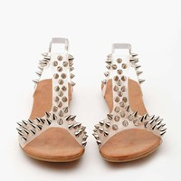 Puffer Spike Sandal - Clear