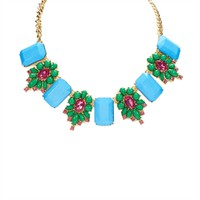 Troy Designs Juniors Embellished Floral Statement Necklace at Von Maur