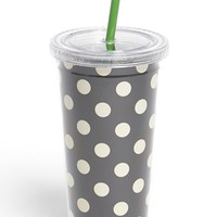 kate spade new york polka dot insulated tumbler | Nordstrom