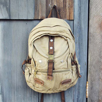 Weathered Cargo Backpack