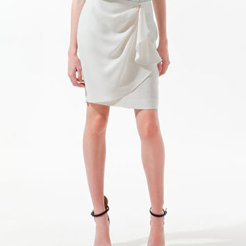 FRONT GATHERED SKIRT - Skirts - Woman - ZARA United States
