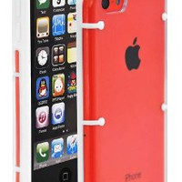 COD(TM) LUCID Case for Apple iPhone 5C 2013 Smartphone (White)