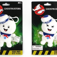Stay Puft - Mini Talking Plush Keychain