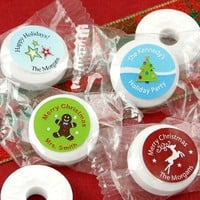 Personalized Candy Favors, Personalized Holiday Candy