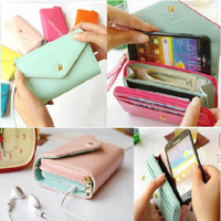 Cute Purse for Phone Mint blue