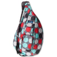 KAVU Women's Rope Sling Bag, Cool Dot, One Size