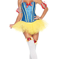 Sultry Snow White Costume, Disney Costume, Adult Disney Princess Costume, Adult Snow White Costume