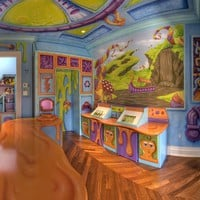 Candy Wonderland Playroom and Mural