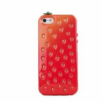 JBG Red iphone 4/4S Newly listed Fresh Strawberry Rugged Case Protector Cover for Apple iPhone 4 4G 4S