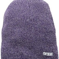 Neff Women's Daily Sparkle Beanie, Purple, One Size