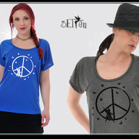 3Elfen WideVisc Shirt Peace Fairy