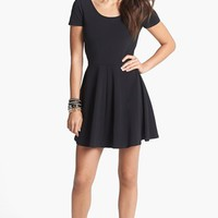 Frenchi® Cutout Back Knit Dress (Juniors) | Nordstrom
