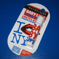 1x Maybelline Baby Lips SPF20 Lip Balm Limited NY Fashion - Protecting Berry.
