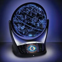 The Heavens And Earth Educating Globe - Hammacher Schlemmer