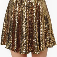 Rare London Watch Me Dance Sequin Skirt