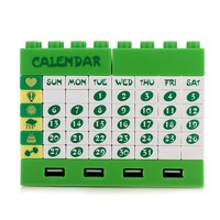 INFMETRY:: DIY Lego Puzzle Calendar with USB HUB - New Products