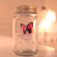 INFMETRY:: Electronic Butterfly in a Jar - New Products