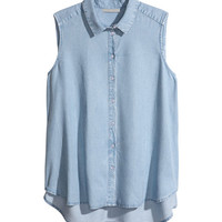 H&M+ Sleeveless Blouse - from H&M