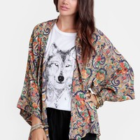 Lost in Translation Paisley Kimono - New Arrivals - Clothing