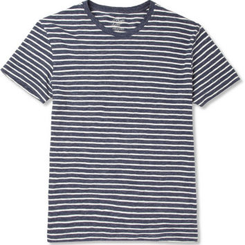 J.Crew Striped Cotton Crew Neck T-Shirt | MR PORTER