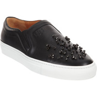 Givenchy Crystal-Embellished Slip-On Sneaker at Barneys New York at Barneys.com