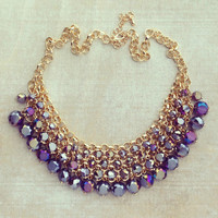 Pree Brulee - Purple Skies Necklace