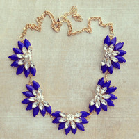 Pree Brulee - Royal Blue Proposal Necklace