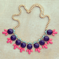 Pree Brulee - Blueberry Cobbler Necklace