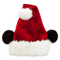 Disney Mickey Mouse Santa Hat for Adults | Disney Store