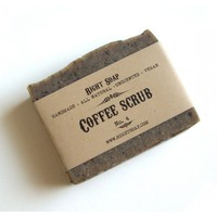 Coffee Scrub Soap (No.4)