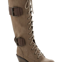 Want to Wander Boot in Tan | Mod Retro Vintage Boots | ModCloth.com
