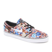 Nike Zoom Stefan Janoski Digi Floral Blue Shoes at PacSun.com
