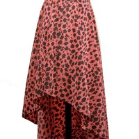 The Risky Cheetah Skirt - Skirts - Clothing