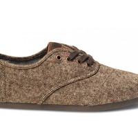 Chocolate Holden Fleck Men's Cordones
