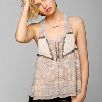Ecote Main Event Embellished Tank Top - Urban Outfitters