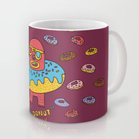Donut guy Mug by PINT GRAPHICS