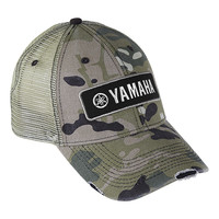 Yamaha Motor Corporation, USA - Head & Neckwear Yamaha Distressed Cap