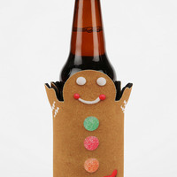 Gingerbread Man Insulated Drink Holder  - Urban Outfitters