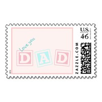 Love you Dad - customize Stamps